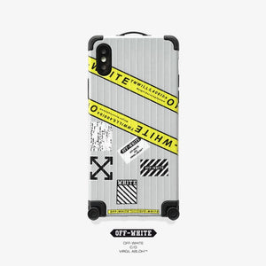 OFF Whtite Style Trunk  Shockproof Protective Designer iPhone Case For iPhone SE 11 Pro Max X XS Max XR 7 8 Plus - Casememe.com