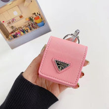 Load image into Gallery viewer, Prada Style Leather Pouch Protective Case For Apple Airpods 1 & 2 & Pro - Casememe.com