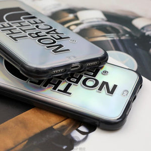 The North Face Style Clear Shockproof Protective Designer iPhone Case For iPhone 12 SE 11 Pro Max X XS Max XR 7 8 Plus - Casememe.com