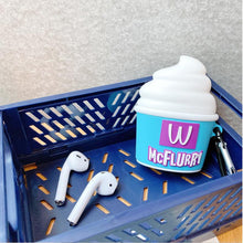 Load image into Gallery viewer, McFlurry Ice Cream Silicone Protective Case For Apple Airpods 1 & 2 & Pro - Casememe.com