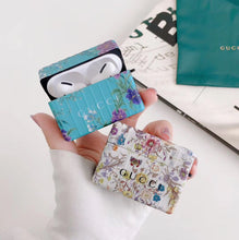 Load image into Gallery viewer, Gucci Style Floral Protective Case For Apple Airpods 1 & 2 & Pro - Casememe.com