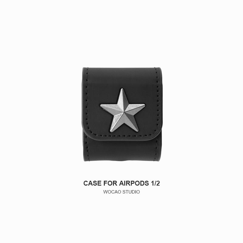 Givenchy Style Leather Protective Case For Apple Airpods 1 & 2 & Pro - Casememe.com