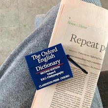 Load image into Gallery viewer, The Oxford Dictionary Silicone Protective Case For Apple Airpods 1 & 2 & Pro - Casememe.com