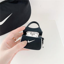 Load image into Gallery viewer, Nike Style Handbag Silicone Protective Case For Apple Airpods 1 & 2 & Pro - Casememe.com