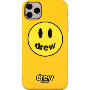 Drew House Style Silicone Shockproof Protective Designer iPhone Case For iPhone SE 11 Pro Max X XS Max XR 7 8 Plus - Casememe.com