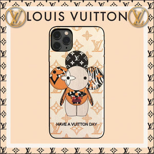 Louis Vuitton x Takashi Murakami Style Luxury Protective Designer iPhone Case For iPhone 12 SE 11 Pro Max X XS Max XR 7 8 Plus - Casememe.com