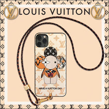 Load image into Gallery viewer, Louis Vuitton x Takashi Murakami Style Luxury Protective Designer iPhone Case For iPhone 12 SE 11 Pro Max X XS Max XR 7 8 Plus - Casememe.com