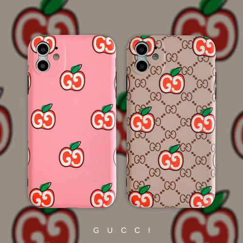 Gucci Style Apple Shockproof Protective Designer iPhone Case For iPhone SE 11 Pro Max X XS Max XR 7 8 Plus