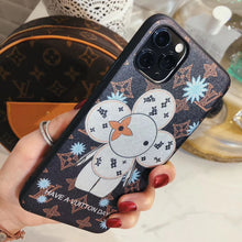Load image into Gallery viewer, Louis Vuitton x Takashi Murakami Style Luxury Snowflake Designer iPhone Case For iPhone SE 11 Pro Max X XS Max XR 7 8 Plus - Casememe.com