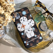 Load image into Gallery viewer, Louis Vuitton x Takashi Murakami Style Luxury Snowflake Designer iPhone Case For iPhone 12 SE 11 Pro Max X XS Max XR 7 8 Plus - Casememe.com