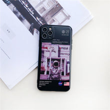 Load image into Gallery viewer, NASA Style Silicone Designer iPhone Case For iPhone 12 SE X XS XS Max XR 7 8 Plus - Casememe.com