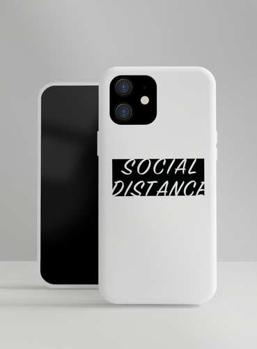 Social Distance Street Designer iPhone Case For iPhone SE 11 Pro Max X XS Max XR 7 8 Plus - Casememe.com