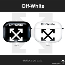 Load image into Gallery viewer, OFF-WHITE Style Matte Protective Case For Apple Airpods 1 & 2 & Pro - Casememe.com