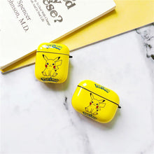 Load image into Gallery viewer, POKEMON Style Pikachu Matte Protective Case For Apple Airpods 1 & 2 & Pro - Casememe.com