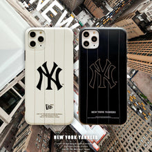 Load image into Gallery viewer, MLB Style Matte Silicone Shockproof Protective Designer iPhone Case For iPhone SE 11 Pro Max X XS Max XR 7 8 Plus - Casememe.com