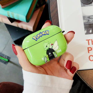 Pokemon Style Pikachu Protective Case For Apple Airpods Pro - Casememe.com