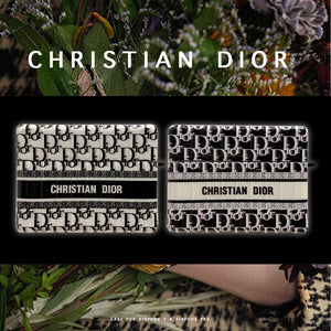 Christian Dior Style Luggage Glossy Square Protective Case For Apple Airpods Pro - Casememe.com