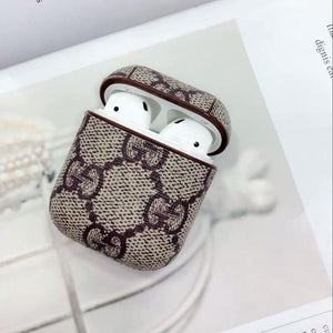 GC Style AirPods Classic Leather Protective Shockproof Case For Apple Airpods 1 & 2 - Casememe.com