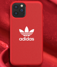 Load image into Gallery viewer, Adidas Style Classic Silicone Designer iPhone Case For iPhone SE 11 Pro Max X XS XS Max XR 7 8 Plus - Casememe.com