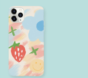 Floral Cute Silicone Designer iPhone Case For iPhone SE 11 Pro Max X XS XS Max XR 7 8 Plus - Casememe.com