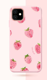 Cute Summer Fruit Silicone Lanyard Designer iPhone Case For iPhone SE 11 Pro Max X XS XS Max XR 7 8 Plus - Casememe.com