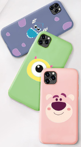 Monster University Style Soft Silicone Designer iPhone Case For iPhone SE 11 Pro Max X XS XS Max XR 7 8 Plus - Casememe.com