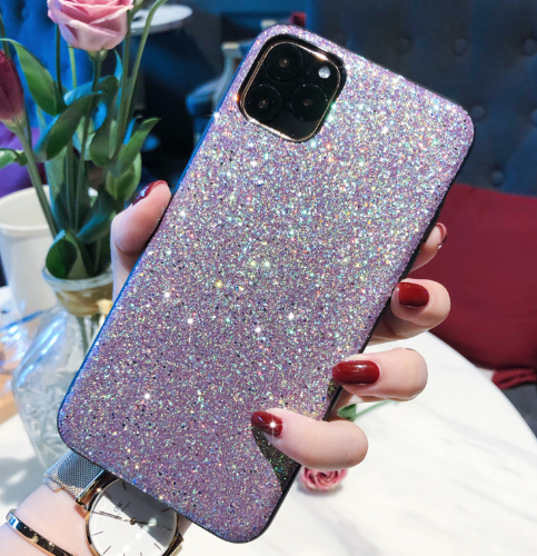 Glitter Shine Shockproof Silicone Designer iPhone Case For iPhone SE 11 Pro Max X XS XS Max XR 7 8 Plus - Casememe.com