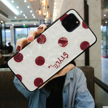 Load image into Gallery viewer, Polka Dot Shockproof Bumper Designer iPhone Case For iPhone SE 11 Pro Max X XS XS Max XR 7 8 Plus - Casememe.com