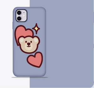 Cute Bunny Silicone Shockproof Designer iPhone Case For iPhone SE 11 Pro Max X XS XS Max XR 7 8 Plus - Casememe.com