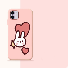 Load image into Gallery viewer, Cute Bunny Silicone Shockproof Designer iPhone Case For iPhone SE 11 Pro Max X XS XS Max XR 7 8 Plus - Casememe.com