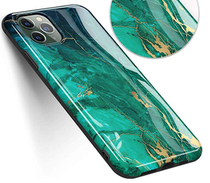 Golden Marble Silicone Designer iPhone Case For iPhone SE 11 Pro Max X XS XS Max XR 7 8 Plus - Casememe.com