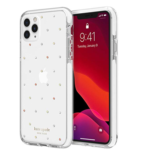 Polka Dots Clear Silicone Designer iPhone Case For iPhone SE 11 Pro Max X XS XS Max XR 7 8 Plus - Casememe.com