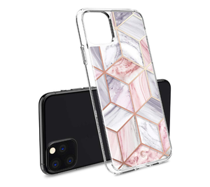 Geometric Marble Metal Frame Designer iPhone Case For iPhone SE 11 Pro Max X XS XS Max XR 7 8 Plus - Casememe.com