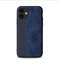 Load image into Gallery viewer, Luxury Leather Frabic Soft Protective Designer iPhone Case For iPhone SE 11 Pro Max X XS XS Max XR 7 8 Plus - Casememe.com
