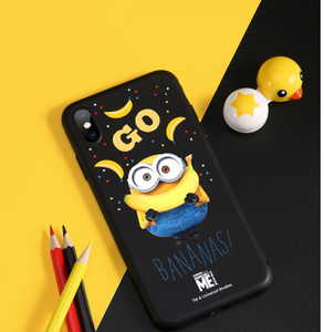 Minions Bananas Style Silicone Designer iPhone Case For iPhone SE 11 Pro Max X XS XS Max XR 7 8 Plus - Casememe.com
