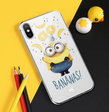 Load image into Gallery viewer, Minions Bananas Style Silicone Designer iPhone Case For iPhone SE 11 Pro Max X XS XS Max XR 7 8 Plus - Casememe.com