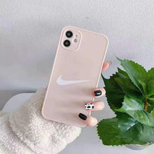 Load image into Gallery viewer, Nike Style Pastel Protective Designer iPhone Case For For All iPhone Models - Casememe.com