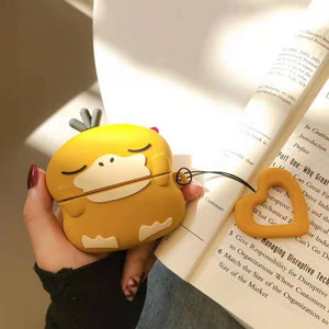 Psyduck Style Cute Silicone Protective Case For Apple Airpods Pro - Casememe.com