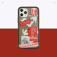 Load image into Gallery viewer, OFF WHITE Style Matte Silicone Shockproof Protective Designer iPhone Case For iPhone SE 11 Pro Max X XS Max XR 7 8 Plus - Casememe.com