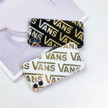 Load image into Gallery viewer, Vans Style Electroplating Glossy TPU Silicone Designer iPhone Case For iPhone 12 SE 11 Pro Max X XS XS Max XR 7 8 Plus - Casememe.com
