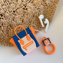 Load image into Gallery viewer, Celine Style Luggage Nano Silicone Protective Shockproof Case For Apple Airpods 1 & 2 - Casememe.com