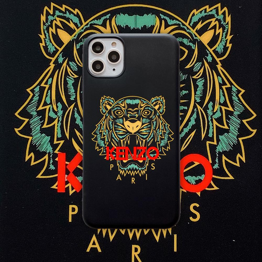 Kenzo Style Tiger Silicone Shockproof Protective Designer iPhone Case For iPhone 12 SE 11 Pro Max X XS Max XR 7 8 Plus - Casememe.com