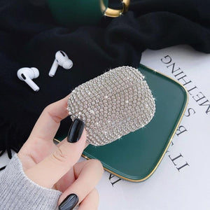 Luxury Diamond Glitter Handmade Designer Protective Case For Apple Airpods Pro - Casememe.com