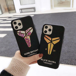 Manba Kobe Bryant TPU Silicone Shockproof Protective Designer iPhone Case For iPhone SE 11 Pro Max X XS Max XR 7 8 Plus - Casememe.com