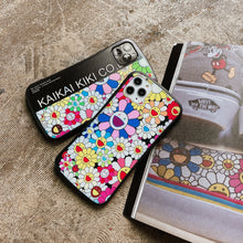 Load image into Gallery viewer, Takashi Murakami Style Round Corner Silicone Shockproof Protective Designer iPhone Case For iPhone SE 11 Pro Max X XS Max XR 7 8 Plus - Casememe.com