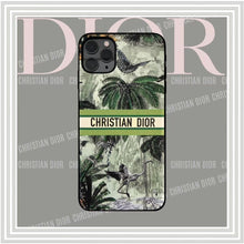 Load image into Gallery viewer, Christian Dior Style Jungle Shockproof Protective Designer iPhone Case For iPhone SE 11 Pro Max X XS Max XR 7 8 Plus - Casememe.com
