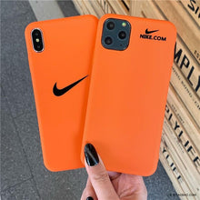 Load image into Gallery viewer, Nike Style Swosh Matte Silicone Protective Designer iPhone Case For iPhone SE 11 Pro Max X XS Max XR 7 8 Plus - Casememe.com