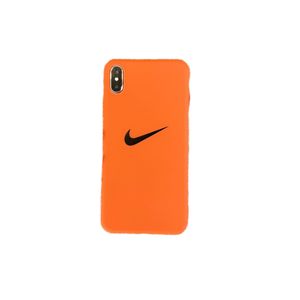 Nike Style Swosh Matte Silicone Protective Designer iPhone Case For iPhone SE 11 Pro Max X XS Max XR 7 8 Plus - Casememe.com