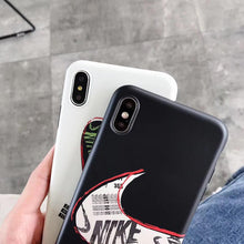 Load image into Gallery viewer, Nike Style Matte Silicone Shockproof Protective Designer iPhone Case For iPhone SE 11 Pro Max X XS Max XR 7 8 Plus - Casememe.com