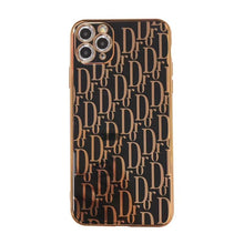Load image into Gallery viewer, Christian Dior Style Electroplating Shockproof Protective Designer iPhone Case For iPhone SE 11 Pro Max X XS Max XR 7 8 Plus - Casememe.com